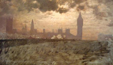 Giuseppe de Nittis - Westminster Bridge