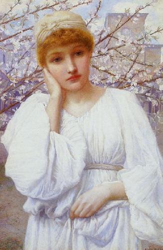 Henry Ryland - La Primavera (Spring)