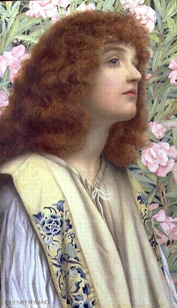 Henry Ryland - Oleander