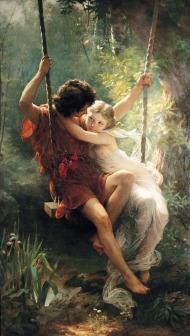 Pierre Auguste Cot - Springtime