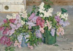 Pyotr Konchalovsky - Still-Life. Lilac, Bucket and Watering-can