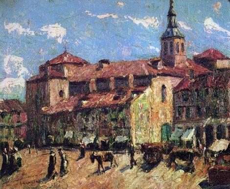 Ernest Lawson - Sunny Day - Segovia