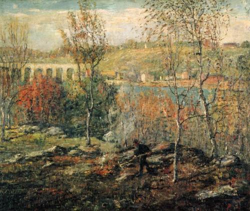 Ernest Lawson - Harlem River