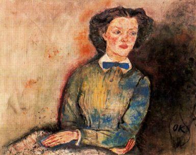 Oskar Kokoschka - Bessie Bruce, 1910