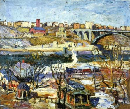 Ernest Lawson - Washington Bridge