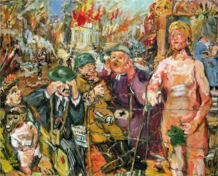 Oskar Kokoschka - Anschluß - Alice in Wonderland, 1942