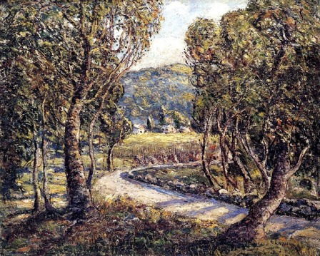 Ernest Lawson - A Turn Of The Road