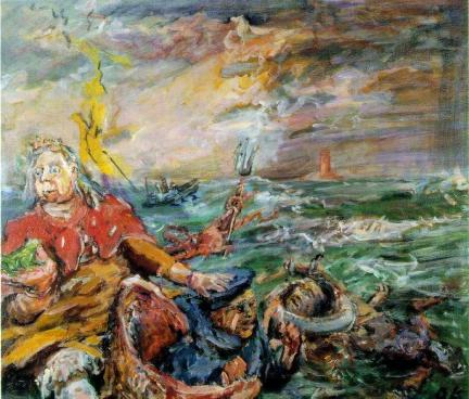 Oskar Kokoschka - Loreley
