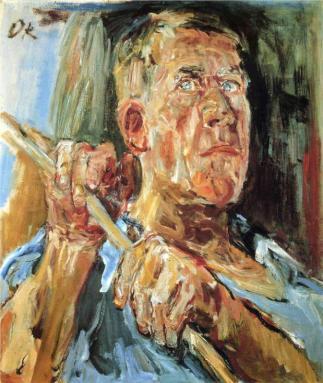 Oskar Kokoschka - Self-portrait (Fiesole), 1948