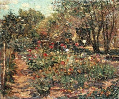 Ernest Lawson - Garden Landscape
