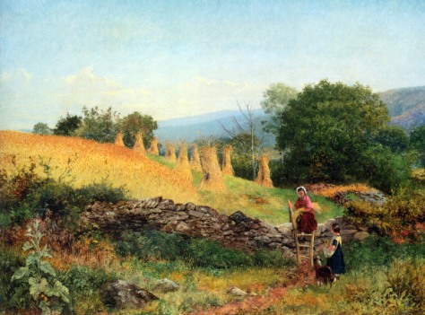 Benjamin Williams Leader - A Welsh Cornfield