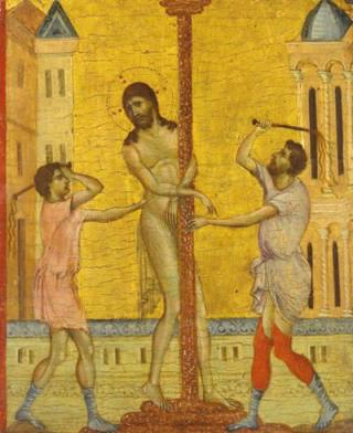 Cimabue - The Flagellation of Christ