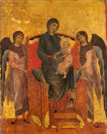 Cimabue - The Virgin and Child Enthroned