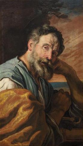 Domenico Fetti - Penitent Peter