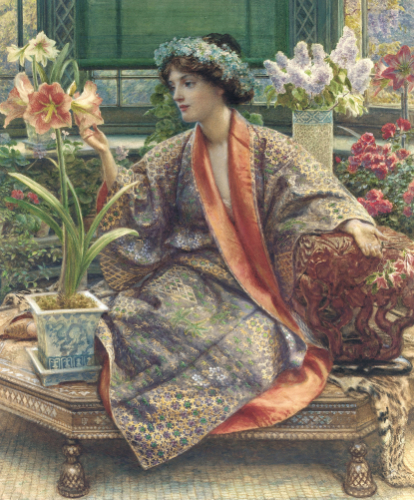 Edward Poynter - A Hot-House Flower
