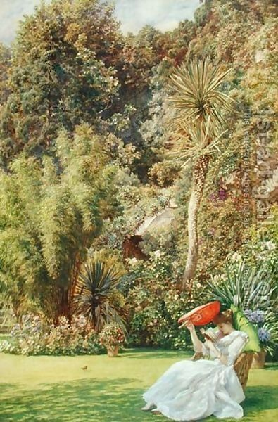 Edward Poynter - In a Garden