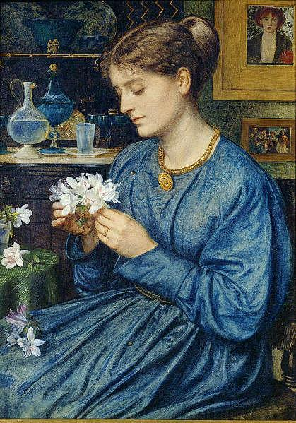 Edward Poynter - Portrait of Agnes Poynter