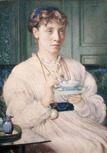 Edward Poynter - Portrait of Georgiana Burne-Jones