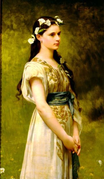Jules Joseph Lefebvre - Portrait of Julia Foster Ward