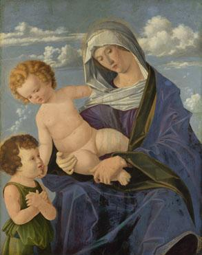 Vincenzo Catena - Madonna and Child with St John the Baptist