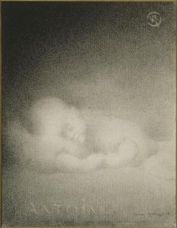 Charles Angrand - Anotine Sleeping