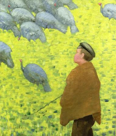 Charles Angrand - The Guardian of Turkeys