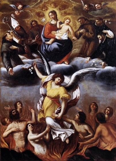 Ludovico Carracci - An Angel Frees the Souls of Purgatory
