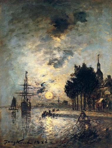 Johan Jongkind - Clair de Lune