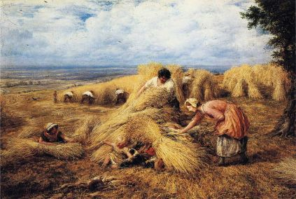 John Linnell - The Harvest Cradle