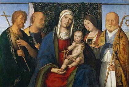 Boccaccio Boccaccino - Sacred Conversation