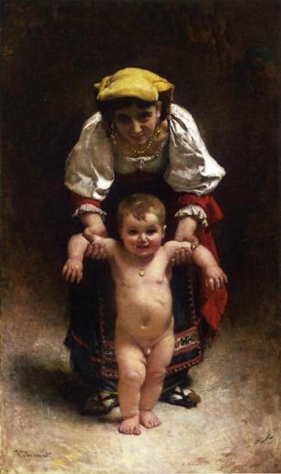 Léon Bonnat - First Steps