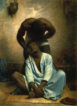 Léon Bonnat - The Barber of Suez