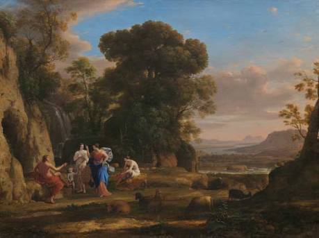 Claude Lorrain - The Judgment of Paris