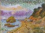 David Burliuk - Crimea Landscape