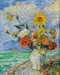 David Burliuk - Flowers in Cuba