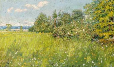 David Burliuk - Summer meadow