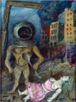 David Burliuk - Surrealistic Composition