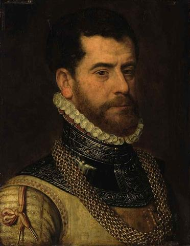 Frans Pourbus the Elder - Portrait of a gentleman in armor