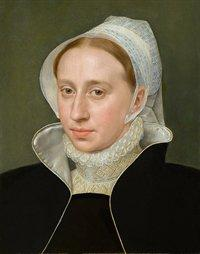 Frans Pourbus the Elder - Portrait of an Unknown Woman
