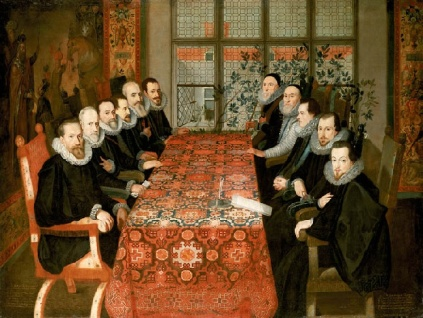 John de Critz - The Somerset House Conference 19 August 1604