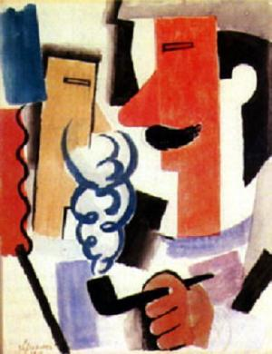 Roger de La Fresnaye - Smoking Soldier
