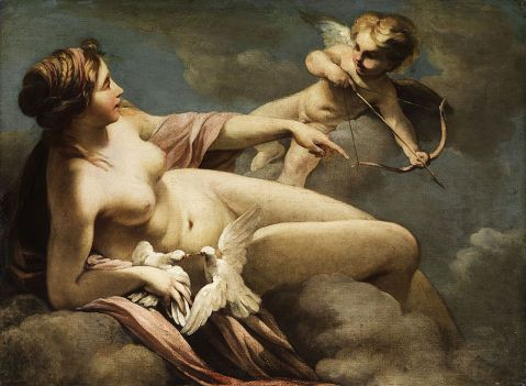 Sebastiano Ricci - Venus and Cupid