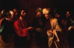 Bartolomeo Manfredi - Le Tribut a Cesar