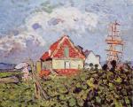 Louis Valtat - La Maison et le trois-mâts