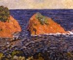 Louis Valtat - Le rocher dans la mer