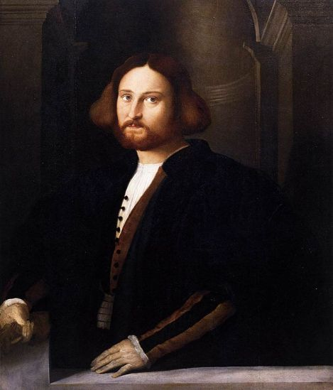 Palma Vecchio - Portrait of Francesco Querini