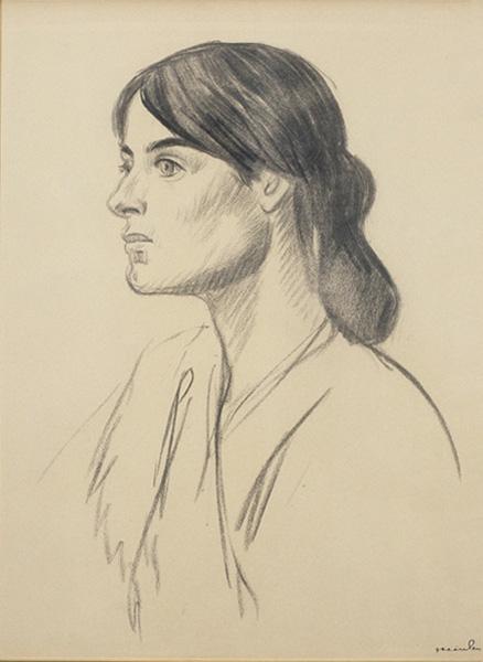 Suzanne Valadon by Steinlen