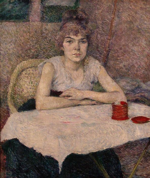 Suzanne Valadon de Toulouse Lautrec