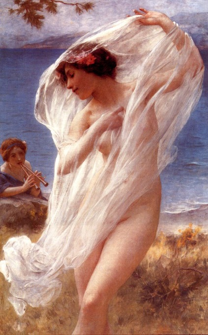 Charles-Amable Lenoir - A Dance By The Sea