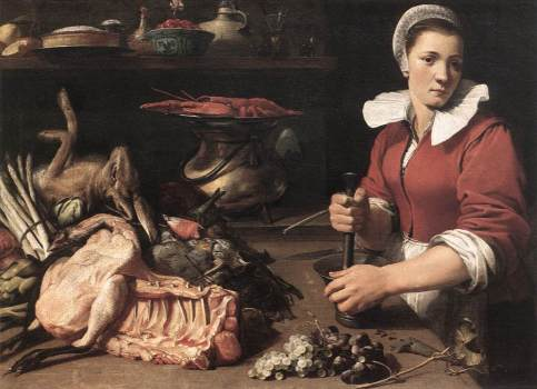 Frans Snyders - Cook with Food